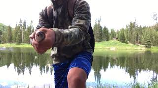 High country fishing