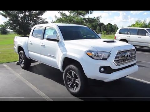 2017 Toyota Tacoma Trd Sport 4x4 Full Tour Start Up At Mey