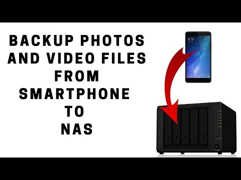 How To Backup Photos And Video Files From SmartPhone To NAS