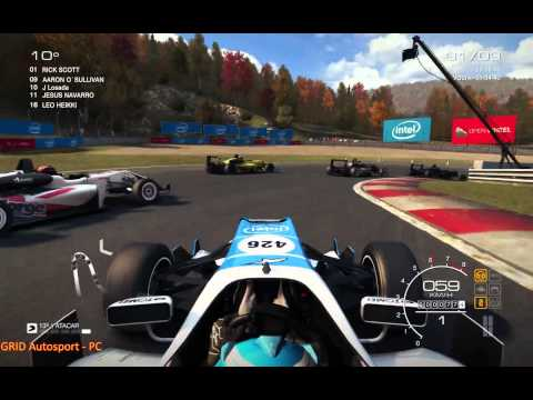 GRID AutoSport PC - Monoposto Gameplay