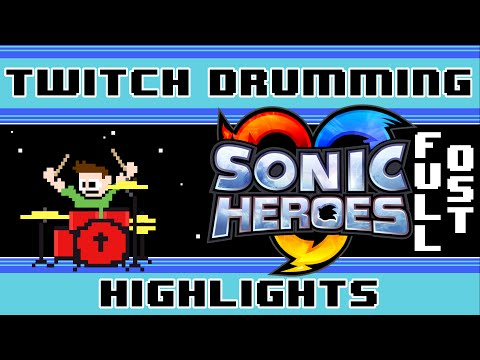 Sonic Heroes OST (Drum Cover) -- The8BitDrummer