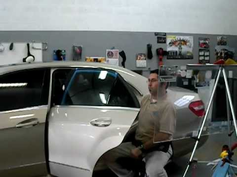 Solar Window Film >> Master Window Tinting. Solar Gard, Ultra Performance 20. Mercedes E350. - YouTube