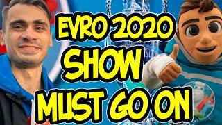 Открытие ЕВРО 2020 Давид Трезеге Парк футбола Эмоции Россия ждет чемпионат Европы Vlog