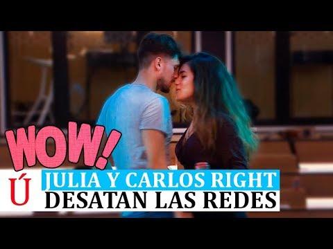 Sube la tensión entre Carlos y Julia antes de la Gala 4 de Operación Triunfo 2018