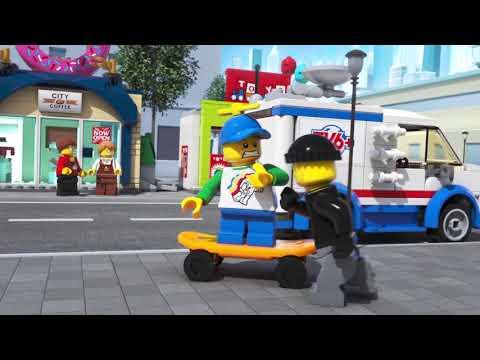 Открытие магазина по продаже пончиков - LEGO City - 60233