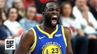 Draymond makes the Warriors dangerous in transition without KD – Seth Greenberg | Get Up!