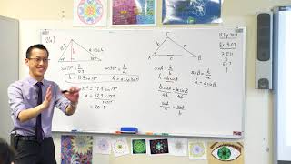 The Sine Rule (2 of 2: Generalising the formula)
