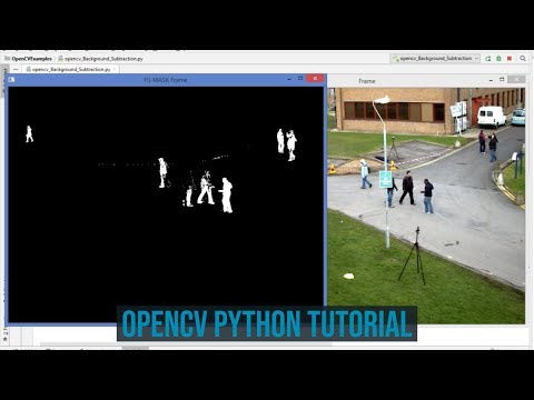 OpenCV Python Tutorial For Beginners 39 - How to Use Background Subtraction Methods in OpenCV thumbnail