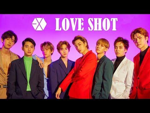 EXO - LOVE SHOT (Lyrics)