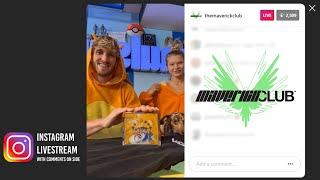 Logan Paul with Joṡie Canseco Instagram Livestream - Nov 8, 2020