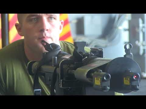 15th Marine Expeditionary Unit Marines Conduct Weapon Calibration