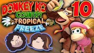 Donkey Kong Country Tropical Freeze: Leave No One Behind - PART 10 - Game Grumps