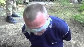 Война в Украине  Допрос террориста ДНР Батальон Азов поймал его Мариуполе