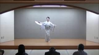 日舞(Japanese Dance)白扇の(藤村亀吉・金子早苗)