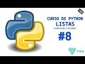 Python 3 Tutorial - Insertar y borrar elementos (Listas)