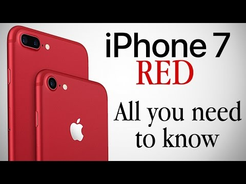 RED Iphone 7 Price Specs Features Release Date All You Need To