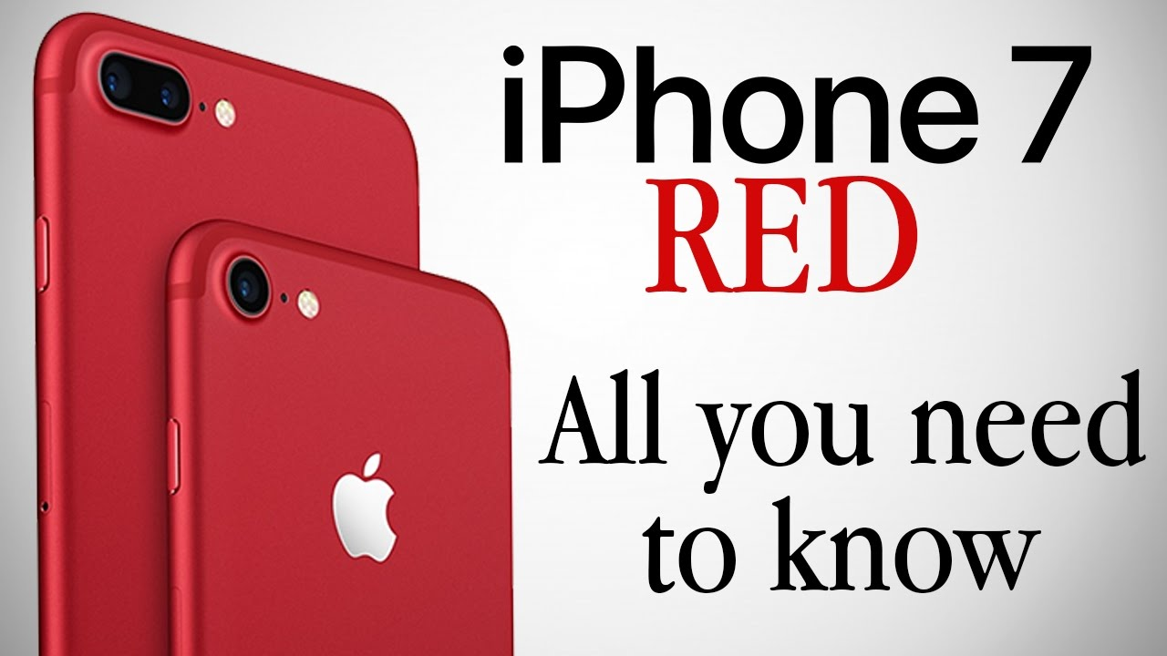 RED Iphone 7 Price Specs Features Release Date All You Need To Know