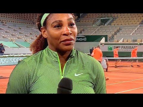 Serena Williams French Open Win. Naomi Osaka Comments - Vlog
