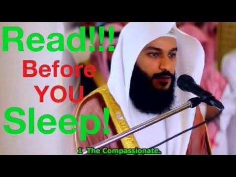 Surah As Sajda & Surah Al Mulk - Abdul Rahman Al Ossi