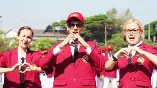 The New Generation Jas Merah Kampus Putih #4