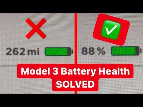 Tesla Model 3: wie man das Beste aus der Batterie rausholt