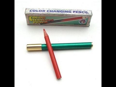tour de magie crayon