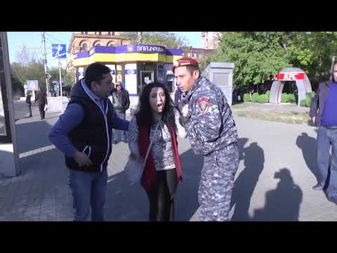 Protesters Arrested As Sarkisian Elected Armenian Prime Minister
