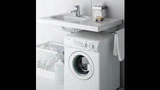 видео стиральная машина под раковину