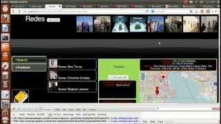Aplicacion HTML5-Mashup de Servicios