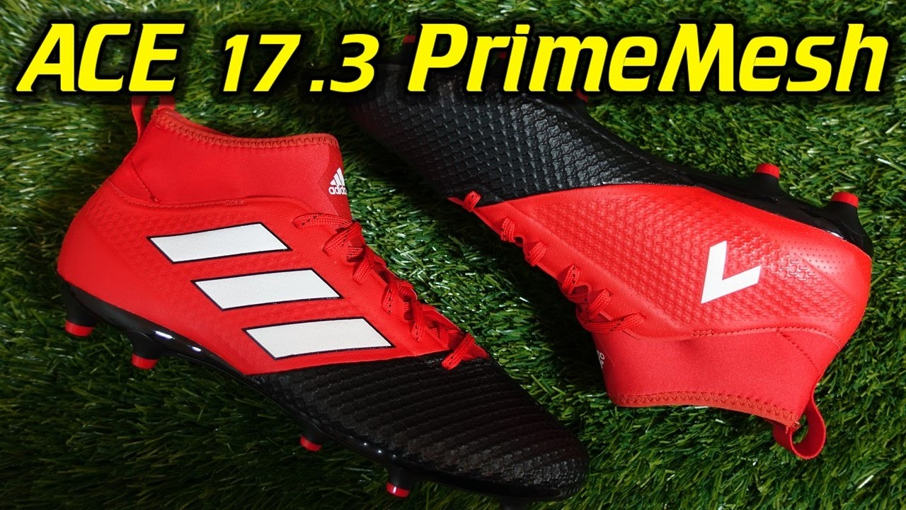 timeless design 9543e 253de Adidas ACE 17.3 Primemesh (Red Limit Pack) - Review + On Fee