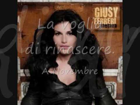 Novembre - Giusy Ferreri (with lyrics/con testo)
