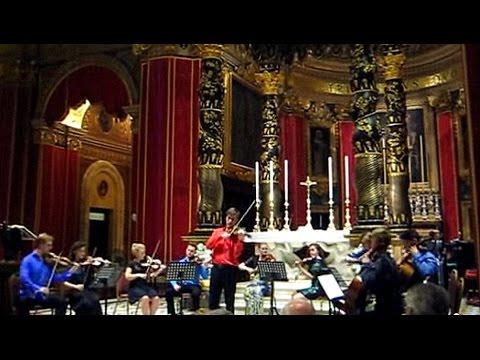 Vivaldi Spring Allegro, Sheffield Music Academy Chamber Ensemble of UK, Gozo, Malta