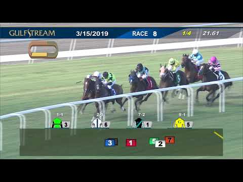 Gulfstream Park March 15, 2019 Race 8 - YouTube