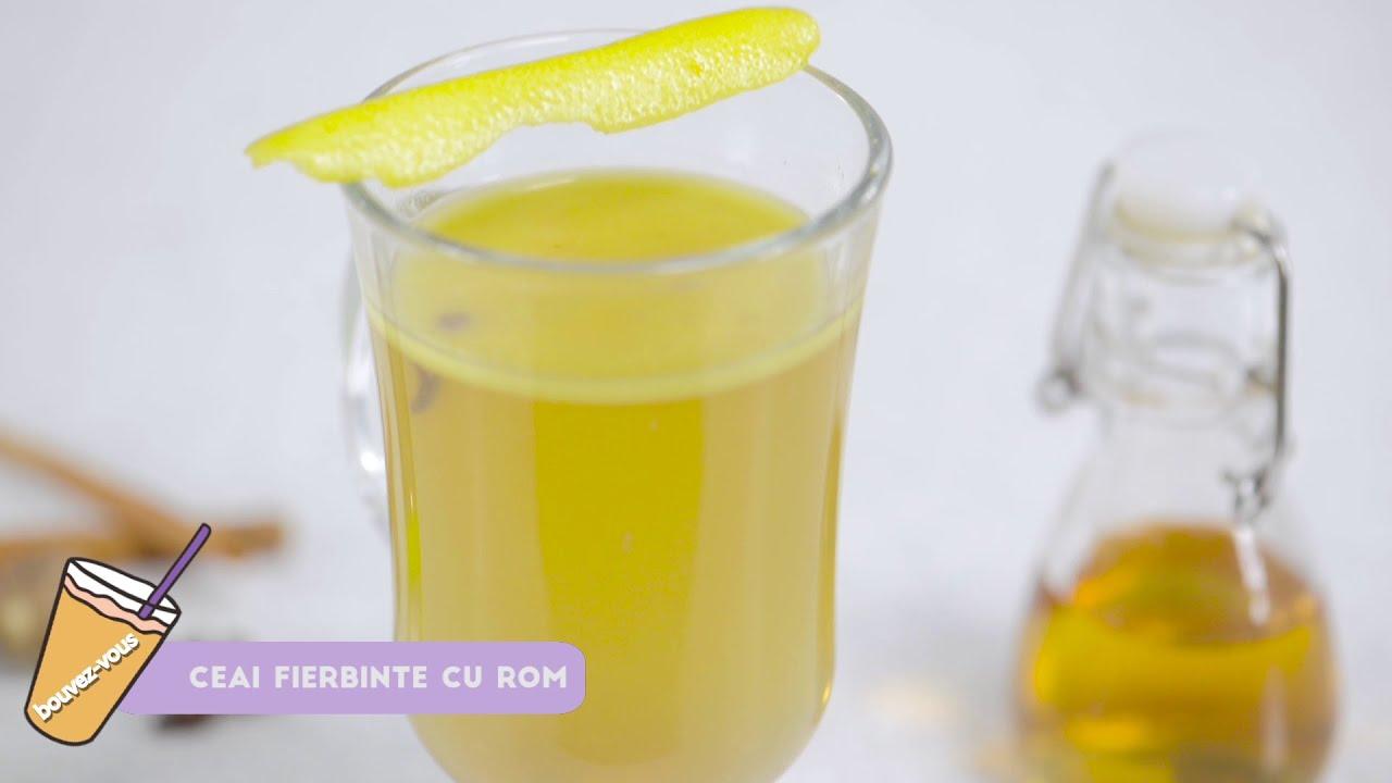 Reteta - Ceai cald cu rom | Buvez-vous