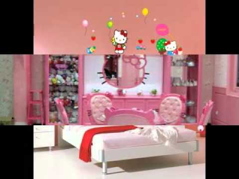 diy hello kitty room decorating ideas youtube 18639 | hqdefault