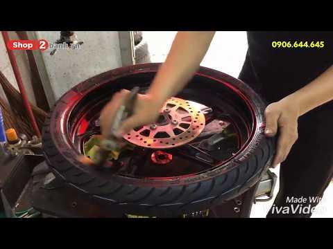 Lên vỏ Michelin cao cấp cho Sirius Fi tại Shop2banh.vn