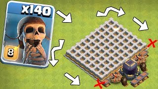 "1000 medals if you break EVERy WALL! ""Clash Of Clans"" troll Clan games?!?"