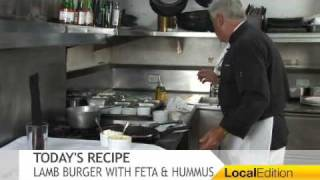 Cooking With Hermann - Lamb Burgers With Mint And Feta