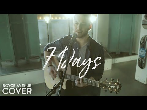 Music video Boyce Avenue - 7 Days