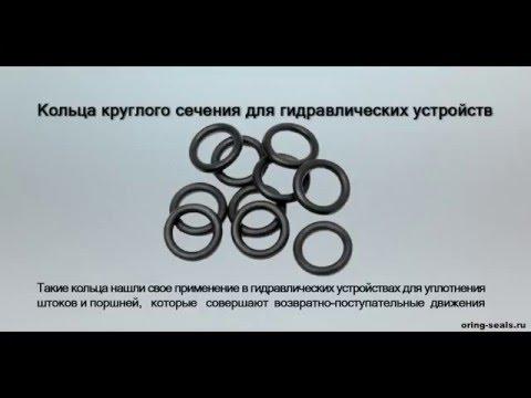 Кольца круглого сечения для гидравлических устройств