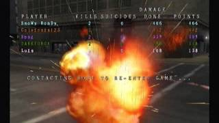 Twisted Metal Black Online Sweet Tooth Carnage Downtown