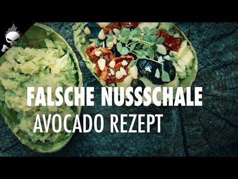Outdoor Küche: Rezept für Avocado – kalte Küche zum leicht Nachkochen für unterwegs und Wandern
