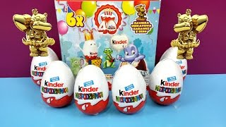Unboxing Kinder Surprise Eggs 40 Years Anniversary Gold Marylinchen  Limited Edition Thumbnail