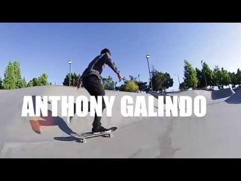 BG SKATEPARK CLIPS WITH  ANTHONY GALINDO