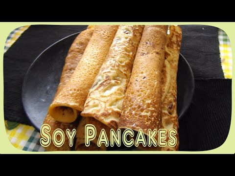 Soy Pancakes    Recipe Without Lactose