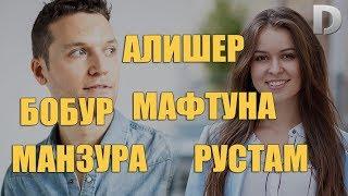 Алишер Бобур Мафтуна Рустам Манзура Исмлар Маъноси