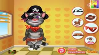 Русский Кот Том Одеваем в пирата