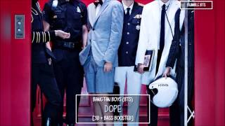 [3D+BASS BOOSTED] BTS 방탄소년단 - DOPE 쩔어 | bumble.bts