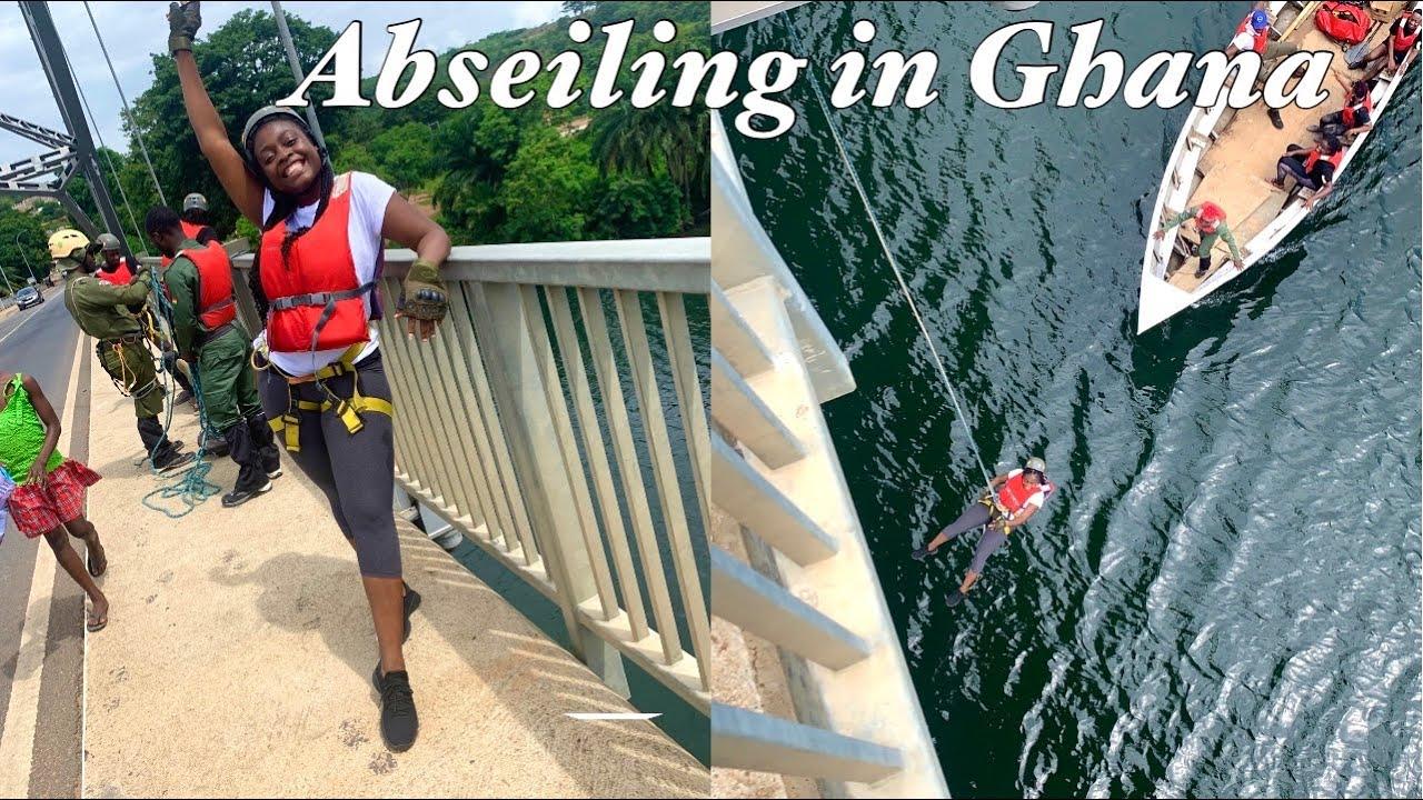 Abseiling Adventure In Ghana || Akosombo Eastern Region
