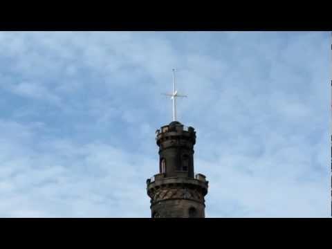 One O'Clock Time Ball, Nelson Monument, Calton Hill, Edinburgh